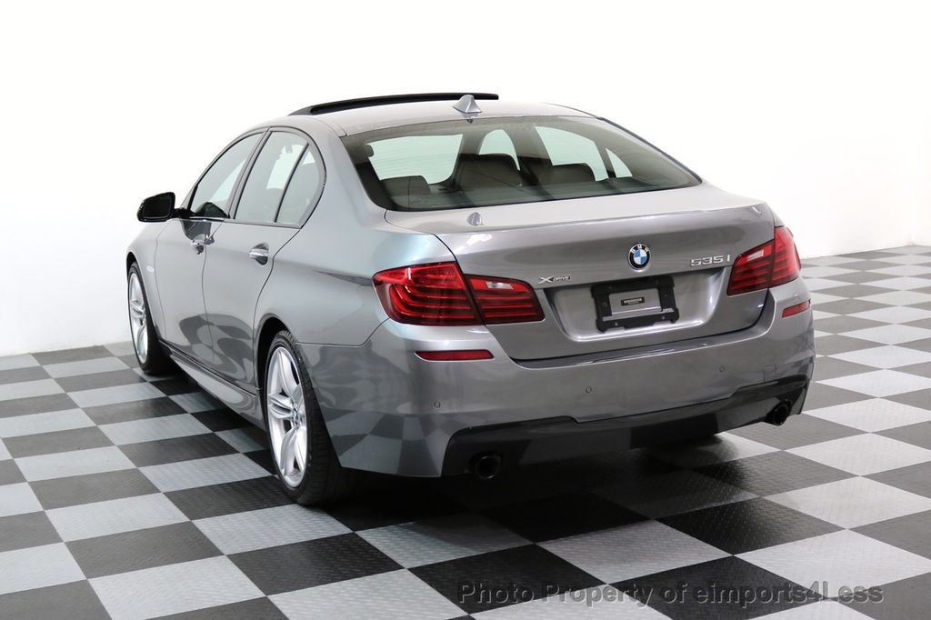 2015 BMW 5 Series CERTIFIED 535i xDRIVE M Sport Package AWD CAMERA NAVI - 17425276 - 2