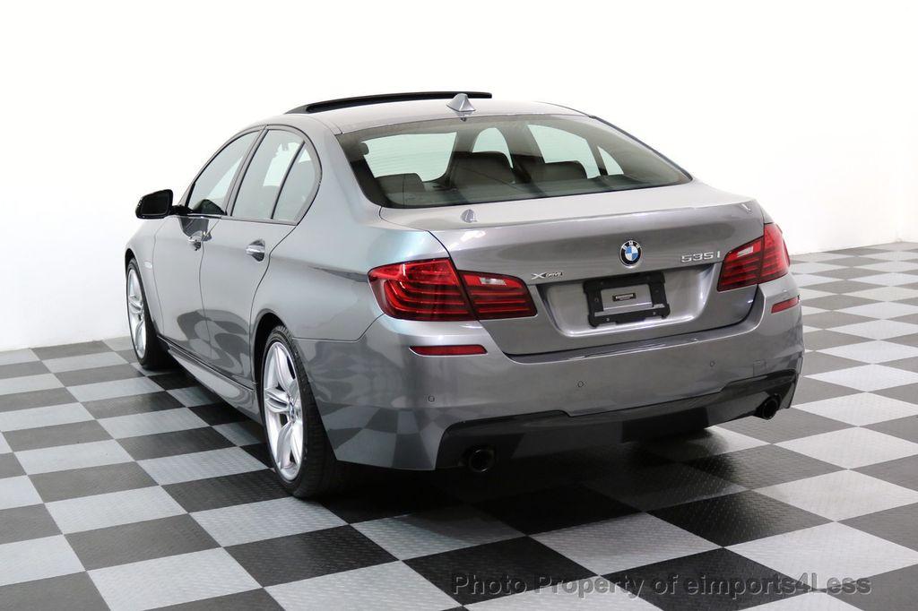 2015 BMW 5 Series CERTIFIED 535i xDRIVE M Sport Package AWD CAMERA NAVI - 17425276 - 2