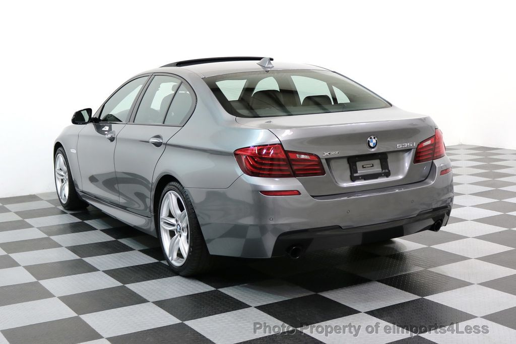 2015 BMW 5 Series CERTIFIED 535i xDRIVE M Sport Package AWD CAMERA NAVI - 17425276 - 32