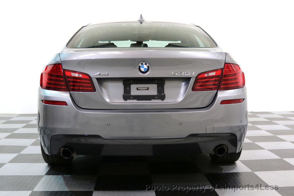2015 BMW 5 Series CERTIFIED 535i xDRIVE M Sport Package AWD CAMERA NAVI - 17425276 - 33