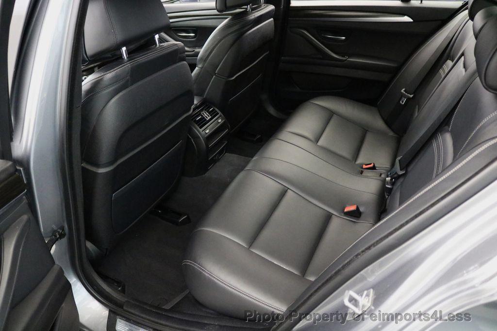 2015 BMW 5 Series CERTIFIED 535i xDRIVE M Sport Package AWD CAMERA NAVI - 17425276 - 37