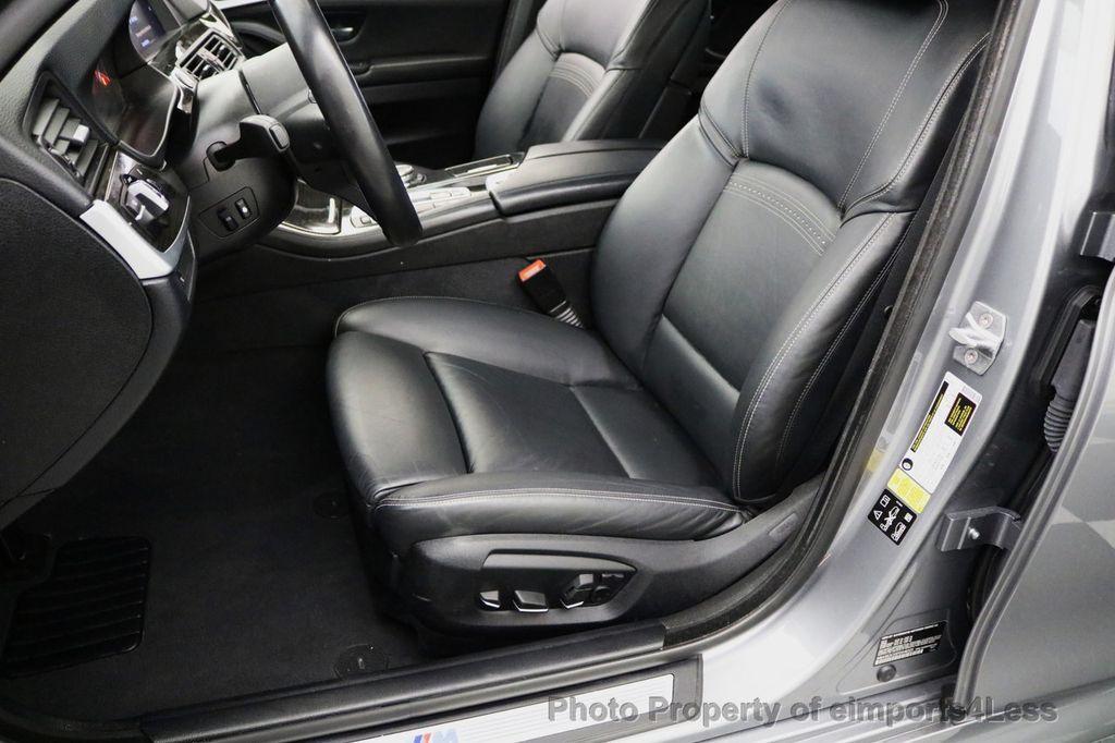 2015 BMW 5 Series CERTIFIED 535i xDRIVE M Sport Package AWD CAMERA NAVI - 17425276 - 39