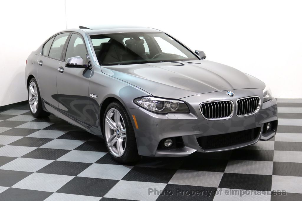 2015 BMW 5 Series CERTIFIED 535i xDRIVE M Sport Package AWD CAMERA NAVI - 17425276 - 49