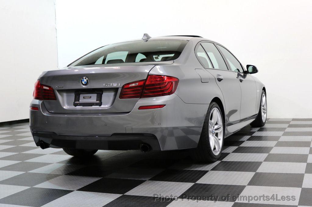 2015 BMW 5 Series CERTIFIED 535i xDRIVE M Sport Package AWD CAMERA NAVI - 17425276 - 52