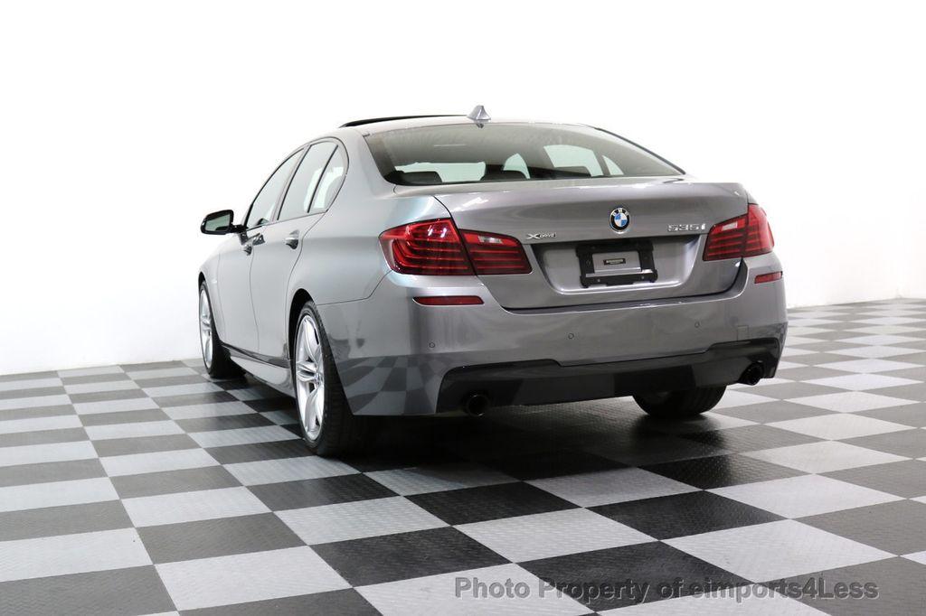 2015 BMW 5 Series CERTIFIED 535i xDRIVE M Sport Package AWD CAMERA NAVI - 17425276 - 54