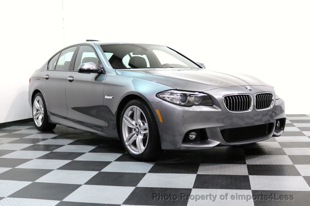 2015 BMW 5 Series CERTIFIED 535i xDRIVE M Sport Package AWD CAMERA NAVI - 17425276 - 56