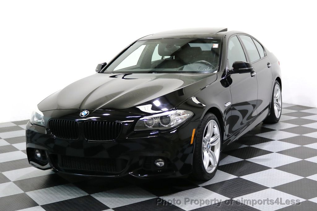 2015 BMW 5 Series CERTIFIED 535i xDRIVE M Sport Package AWD CAMERA NAVI - 17461097 - 0