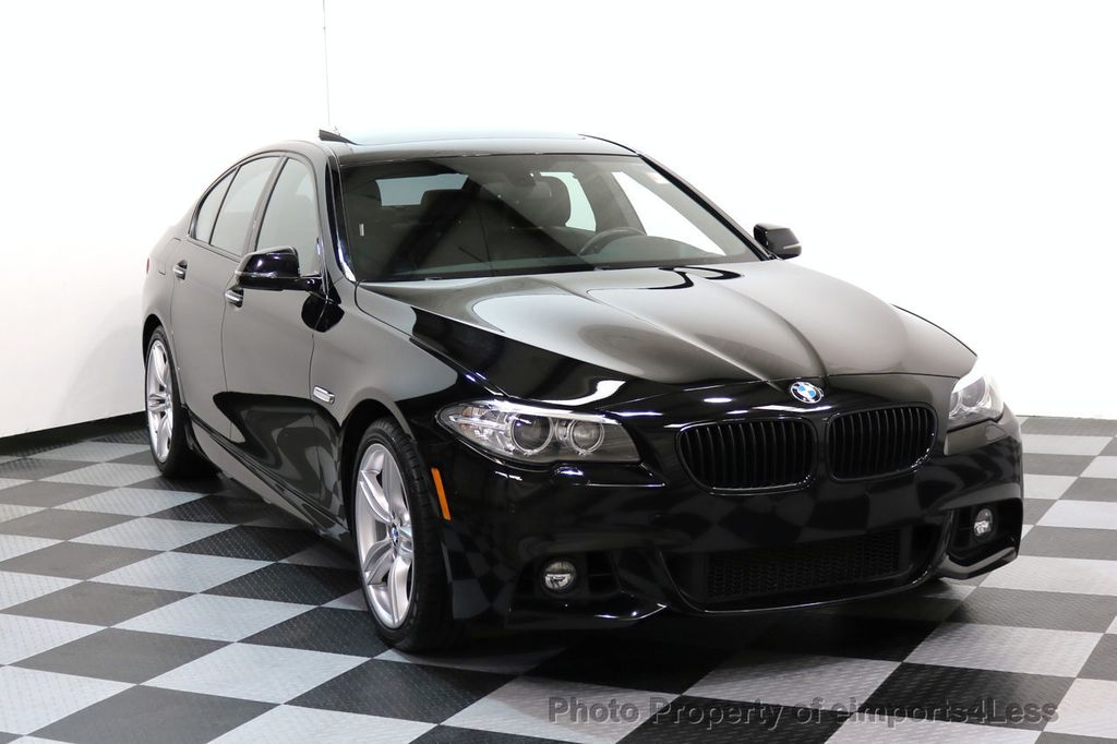 2015 BMW 5 Series CERTIFIED 535i xDRIVE M Sport Package AWD CAMERA NAVI - 17461097 - 1
