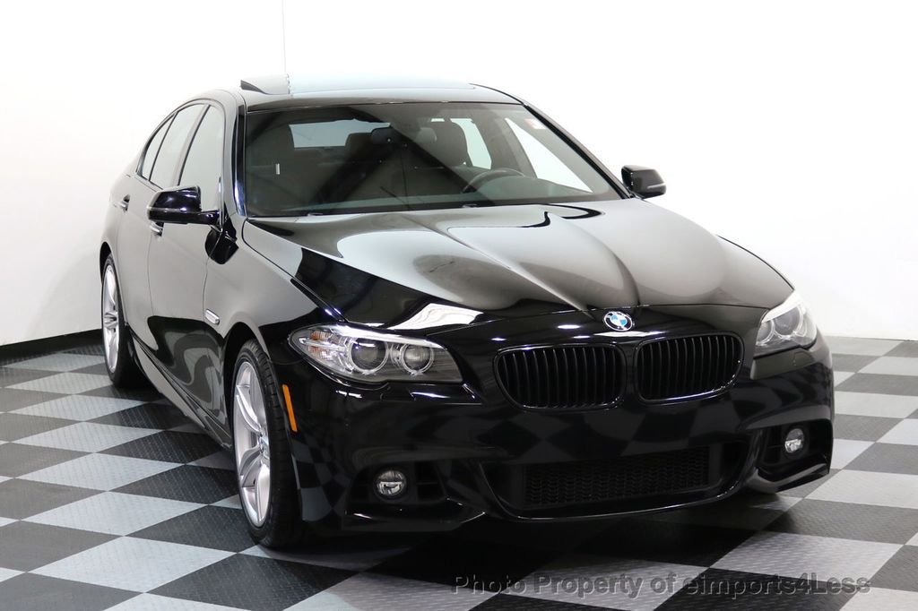 2015 BMW 5 Series CERTIFIED 535i xDRIVE M Sport Package AWD CAMERA NAVI - 17461097 - 31
