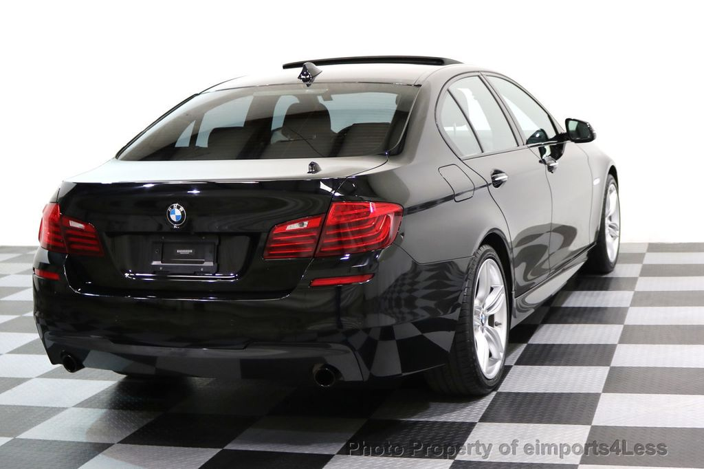 2015 BMW 5 Series CERTIFIED 535i xDRIVE M Sport Package AWD CAMERA NAVI - 17461097 - 3