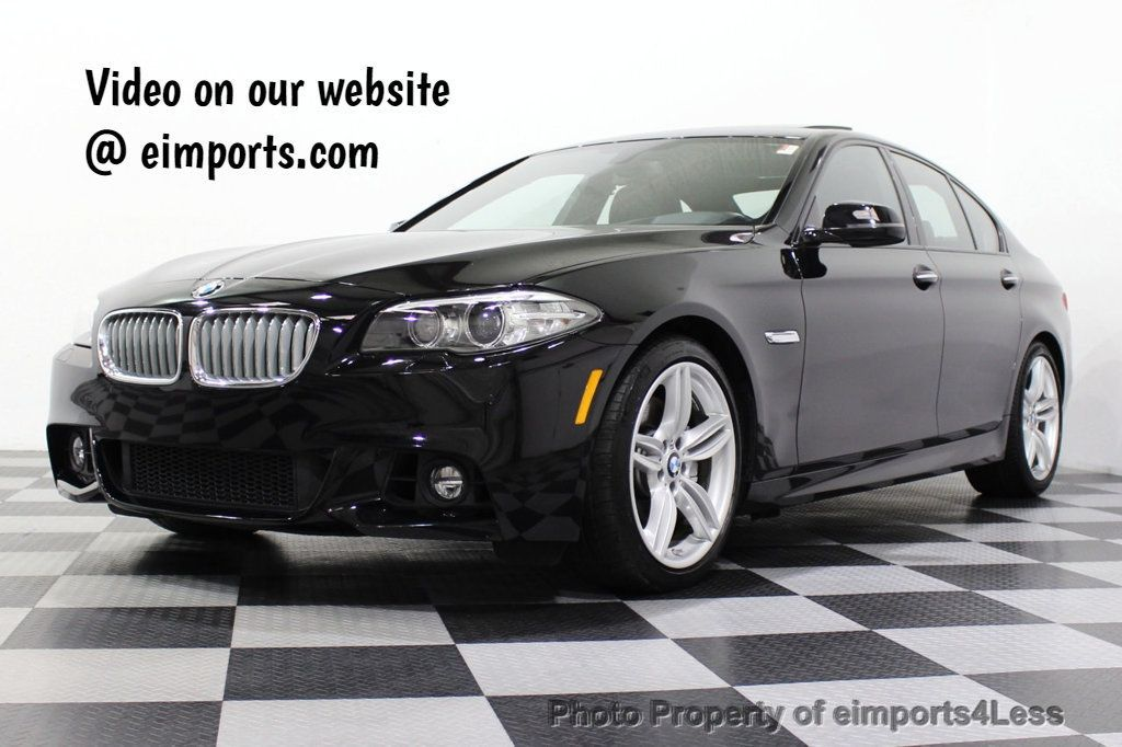 2015 BMW 5 Series CERTIFIED 550i M SPORT EXECUTIVE CAMERA NAV - 18302574 - 0