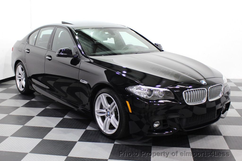 2015 BMW 5 Series CERTIFIED 550i M SPORT EXECUTIVE CAMERA NAV - 18302574 - 1