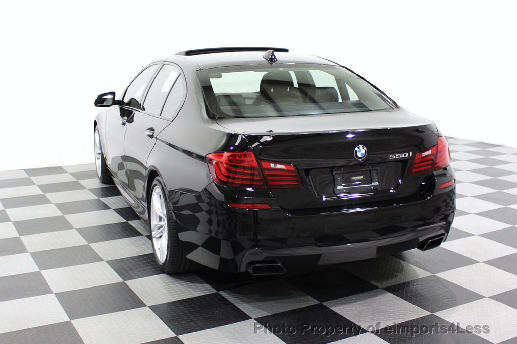 2015 BMW 5 Series CERTIFIED 550i M SPORT EXECUTIVE CAMERA NAV - 18302574 - 46