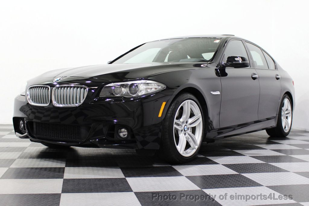 2015 BMW 5 Series CERTIFIED 550i M SPORT EXECUTIVE CAMERA NAV - 18302574 - 52