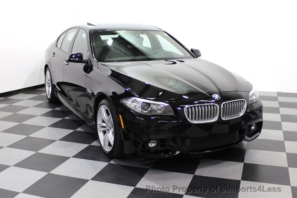 2015 BMW 5 Series CERTIFIED 550i M SPORT EXECUTIVE CAMERA NAV - 18302574 - 55