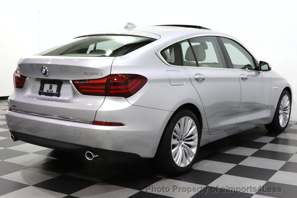 2015 BMW 5 Series Gran Turismo CERTIFIED 535i GT xDrive LUX LINE AWD HUD PANO CAM NAV - 18545384 - 32