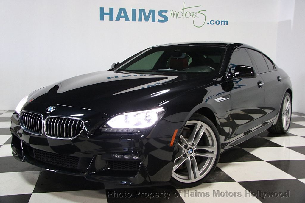 2015 Used Bmw 6 Series 640i Gran Coupe At Haims Motors