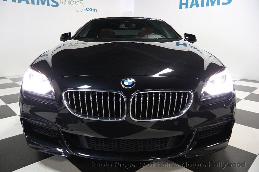 2015 BMW 6 Series 640i Gran Coupe - 16585411 - 2