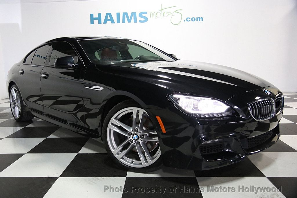 2015 BMW 6 Series 640i Gran Coupe - 16585411 - 3