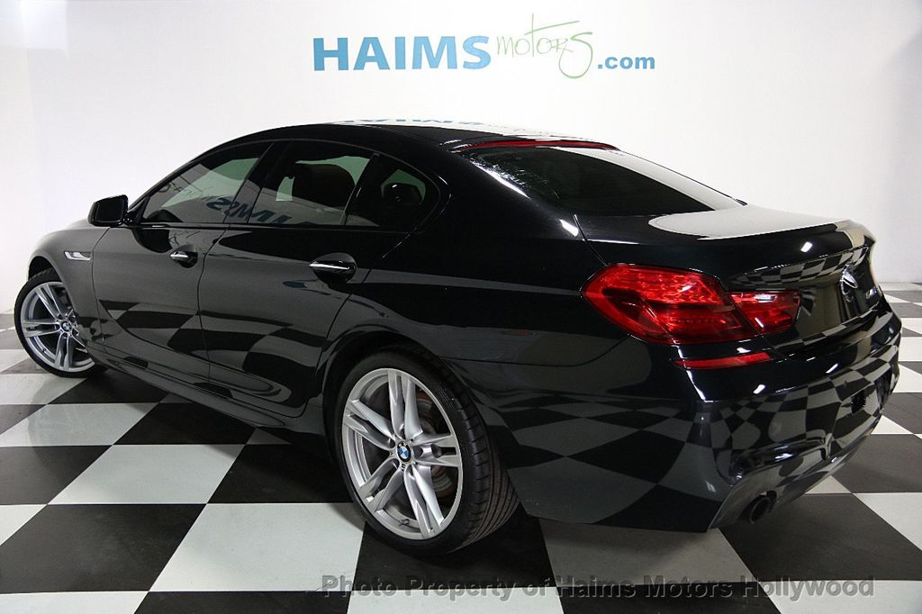 2015 BMW 6 Series 640i Gran Coupe - 16585411 - 4