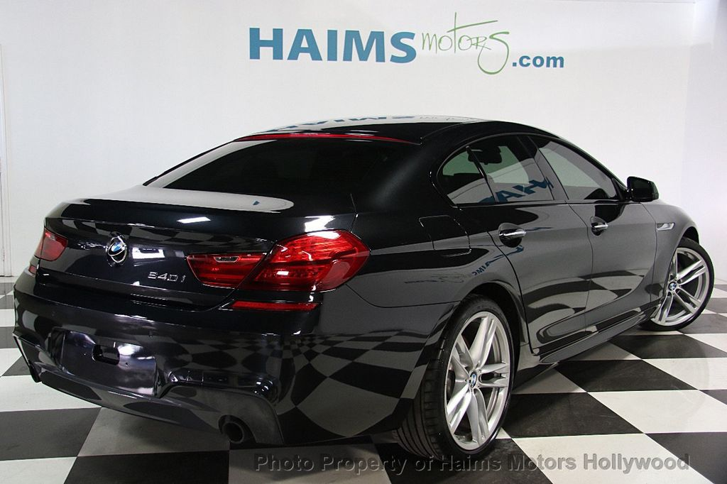 2015 BMW 6 Series 640i Gran Coupe - 16585411 - 6