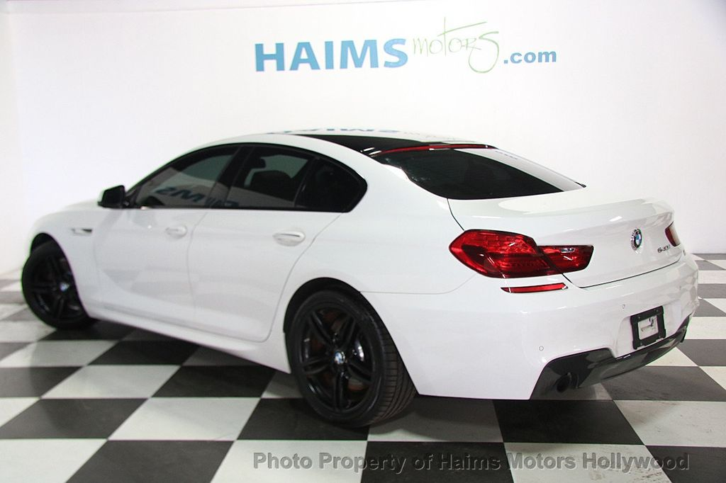 2015 Used Bmw 6 Series 640i Gran Coupe At Haims Motors Serving Fort