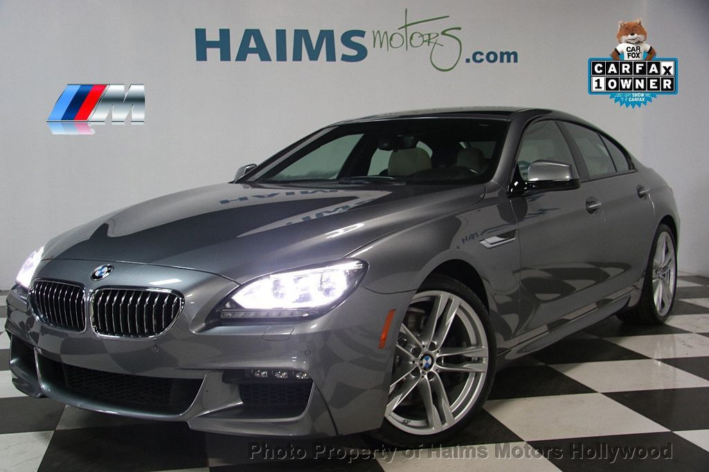 2015 BMW 6 Series 640i Gran Coupe - 17207070 - 0
