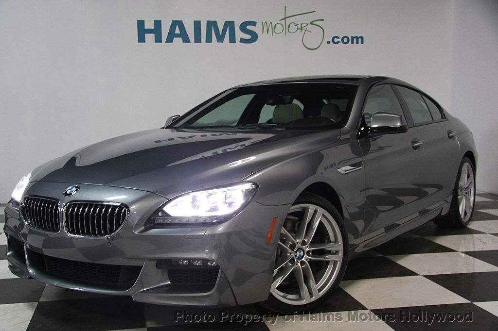 2015 BMW 6 Series 640i Gran Coupe - 17207070 - 1