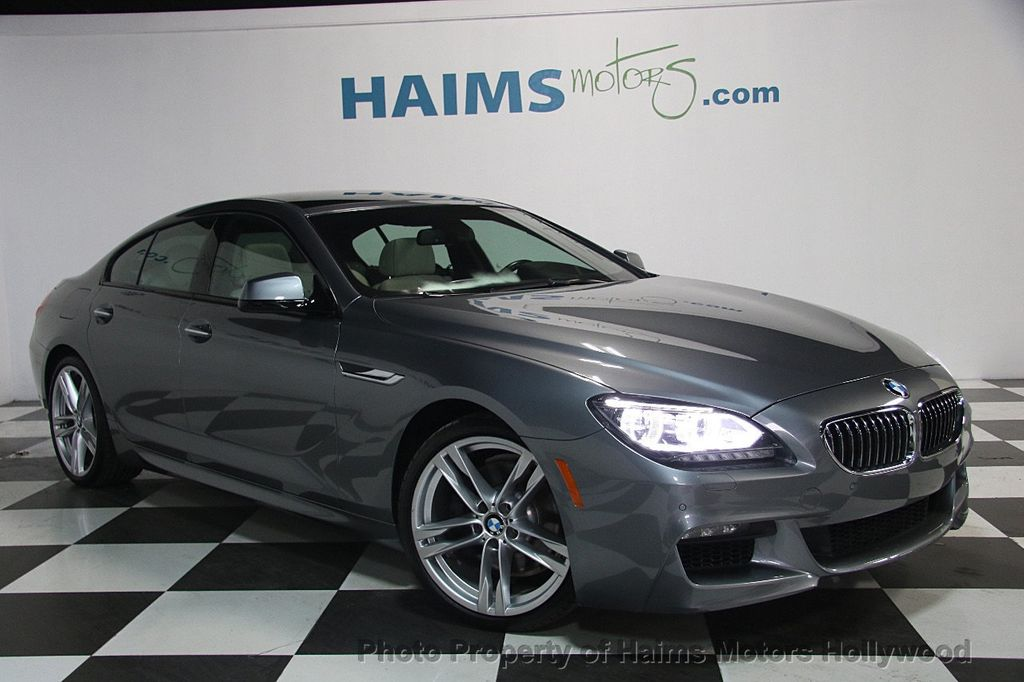 2015 BMW 6 Series 640i Gran Coupe - 17207070 - 3