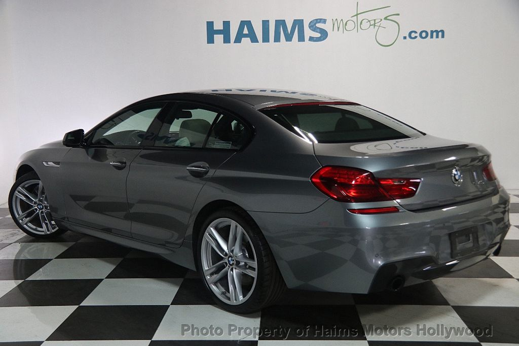 2015 used bmw 6 series 640i gran coupe at haims motors. Black Bedroom Furniture Sets. Home Design Ideas