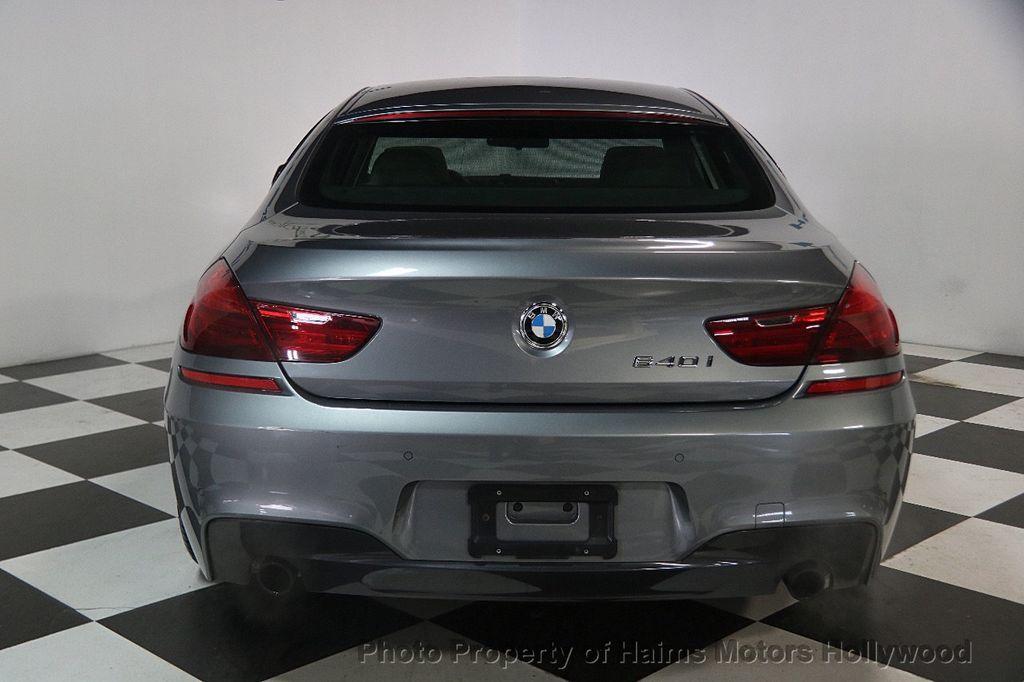 2015 BMW 6 Series 640i Gran Coupe - 17207070 - 5