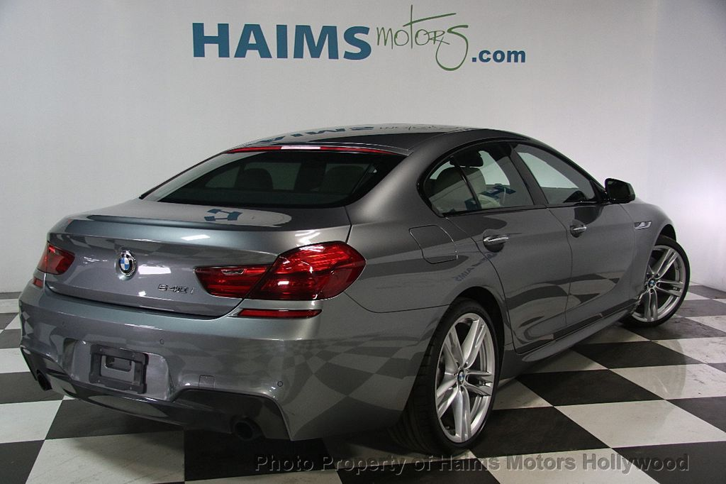 2015 BMW 6 Series 640i Gran Coupe - 17207070 - 6