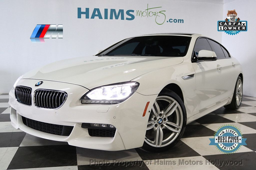 2015 BMW 6 Series 640i Gran Coupe - 17631235 - 0