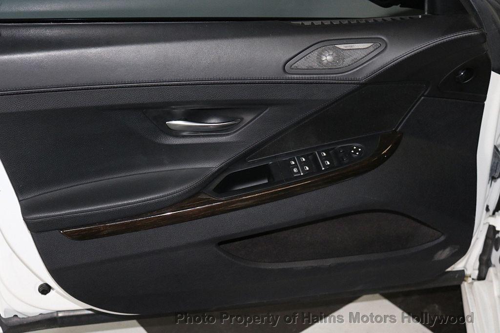 2015 BMW 6 Series 640i Gran Coupe - 17631235 - 11