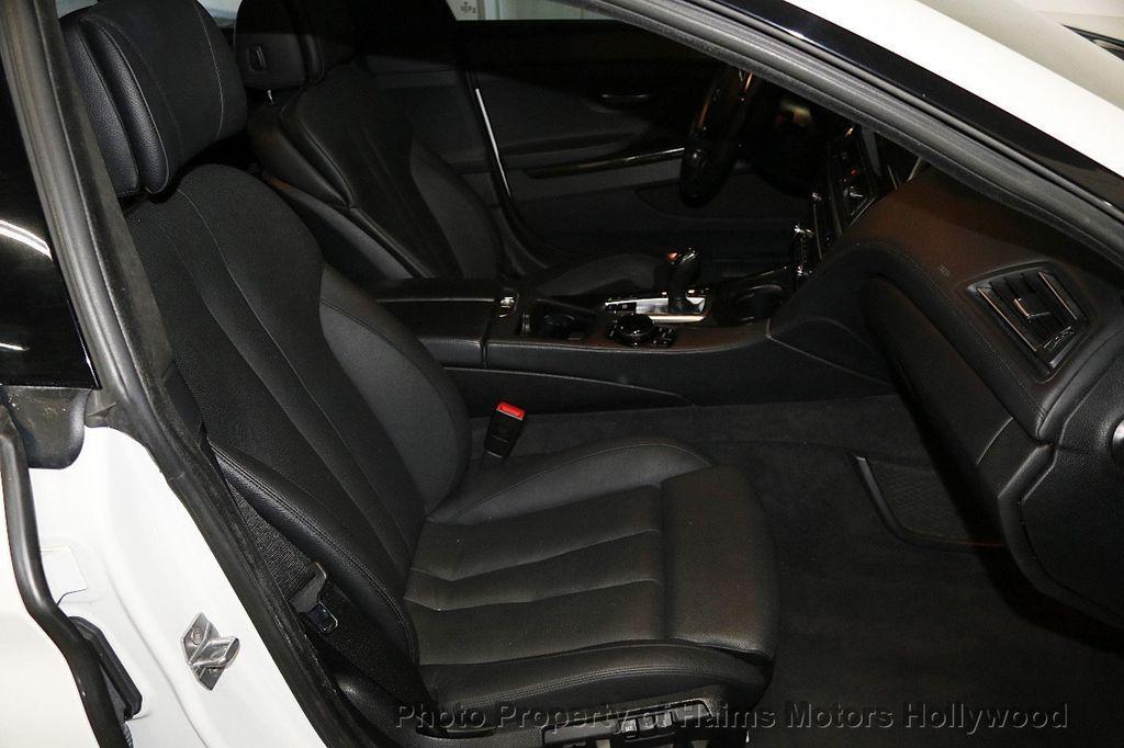2015 BMW 6 Series 640i Gran Coupe - 17631235 - 15