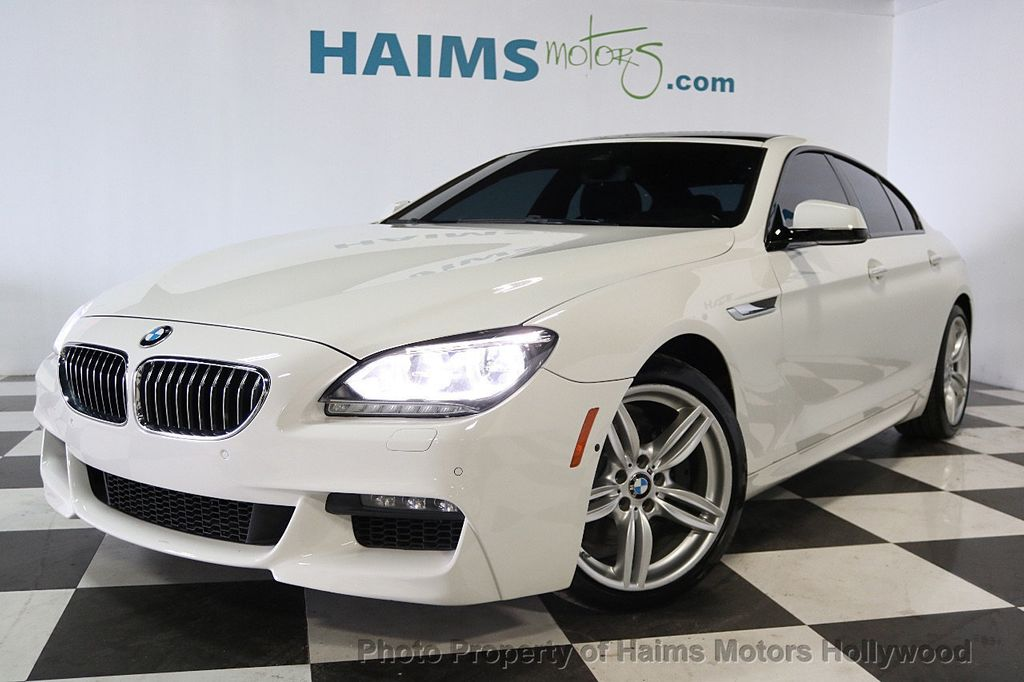 2015 BMW 6 Series 640i Gran Coupe - 17631235 - 1