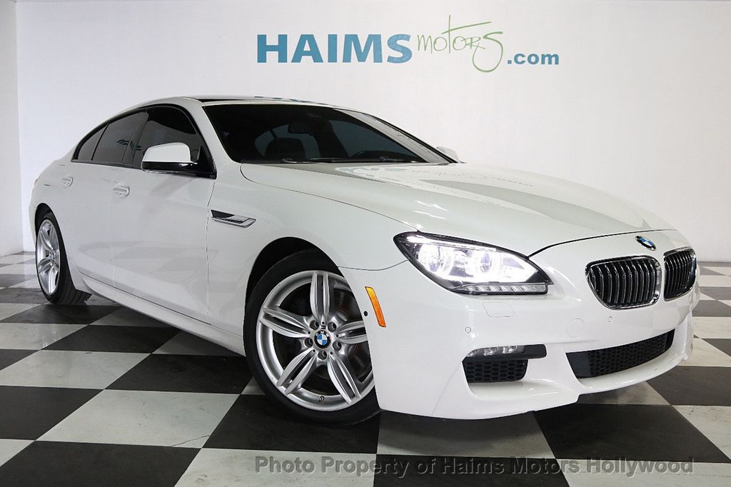 2015 BMW 6 Series 640i Gran Coupe - 17631235 - 3