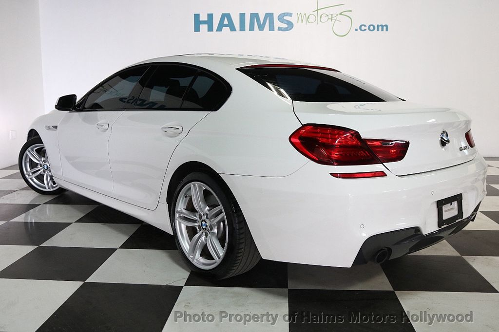 2015 BMW 6 Series 640i Gran Coupe - 17631235 - 4