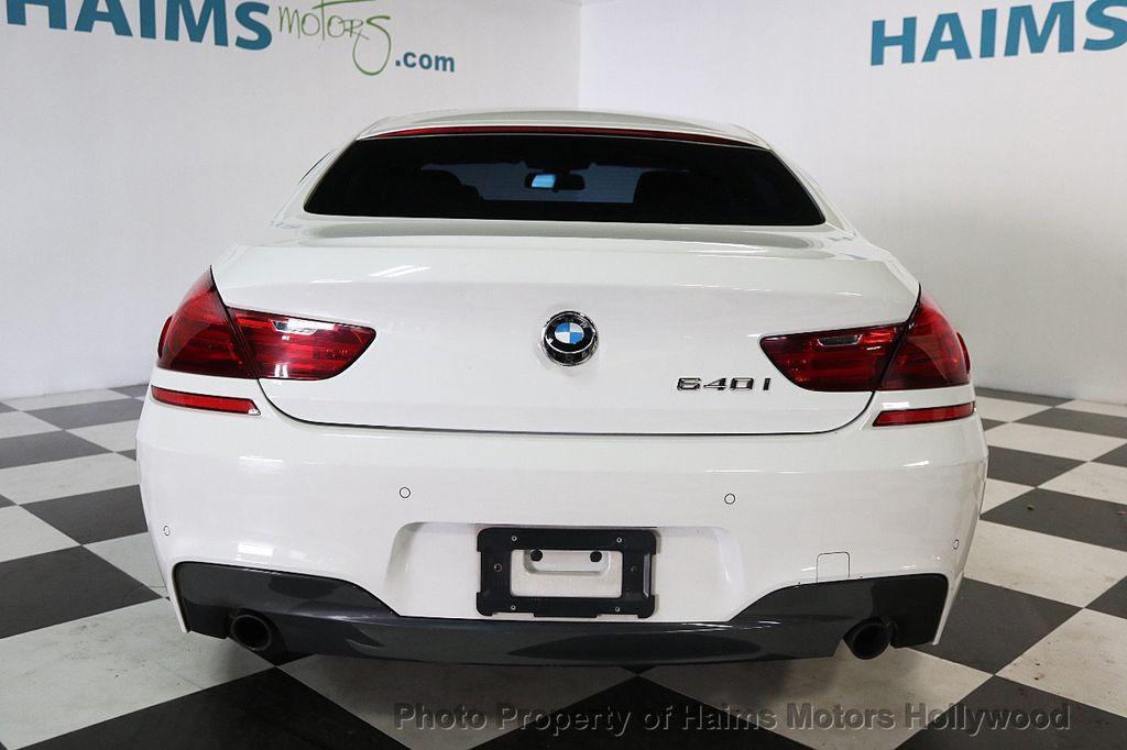 2015 BMW 6 Series 640i Gran Coupe - 17631235 - 5
