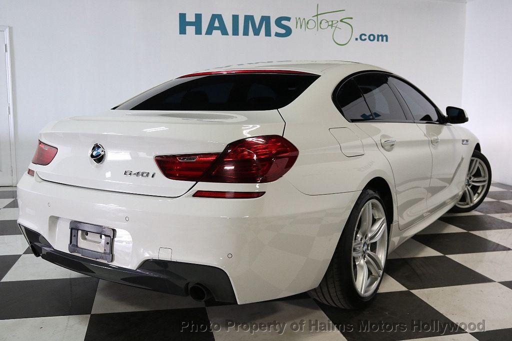 2015 BMW 6 Series 640i Gran Coupe - 17631235 - 6