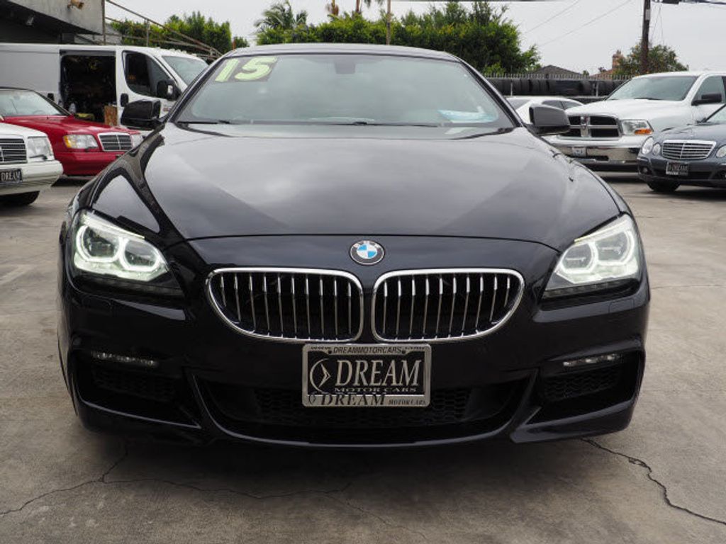 2015 BMW 6 Series 640i Gran Coupe - 17867215 - 1