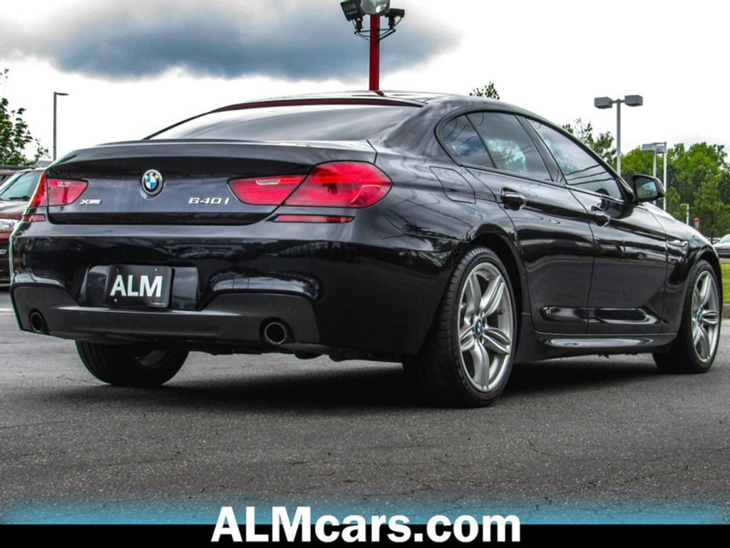 2015 BMW 6 Series 640i xDrive Gran - 17548286 - 5