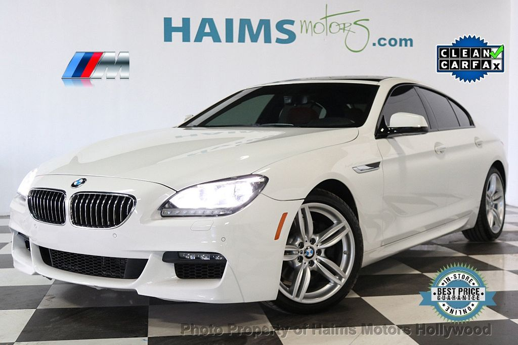 2015 BMW 6 Series 640i xDrive  Gran - 17496544 - 0