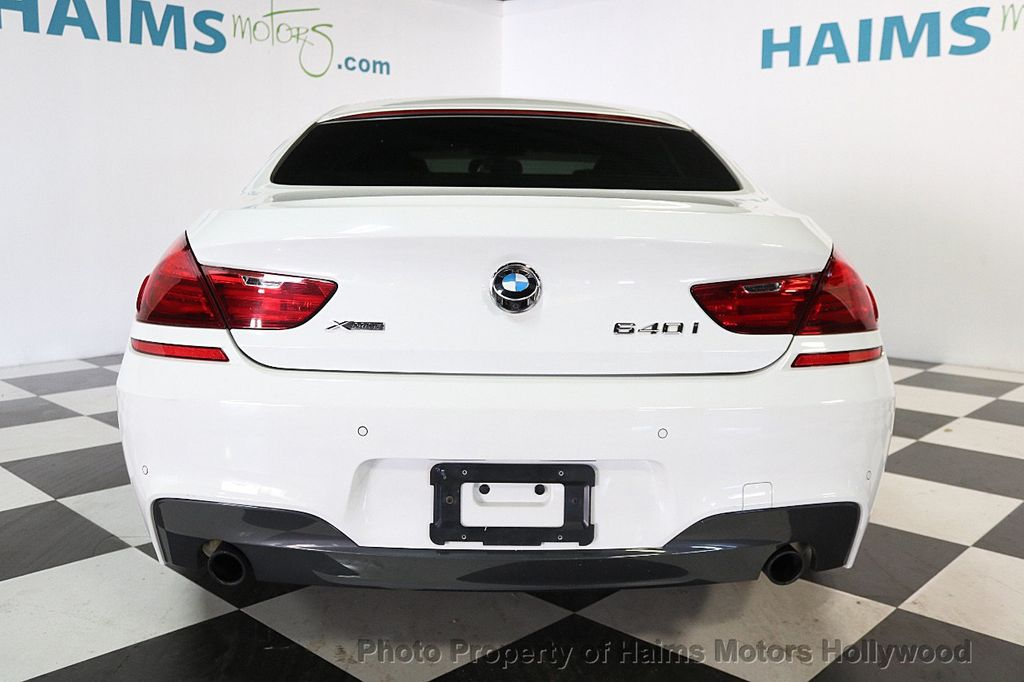 2015 BMW 6 Series 640i xDrive  Gran - 17496544 - 5