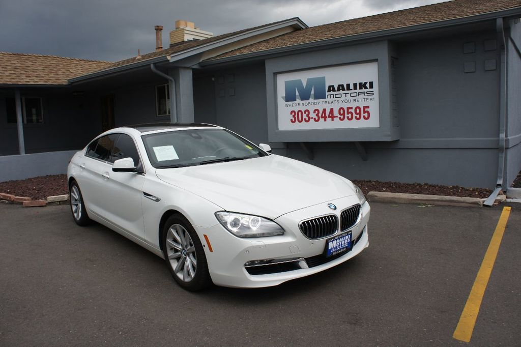 2015 BMW 6 Series 640i xDrive  Gran - 17712372 - 0