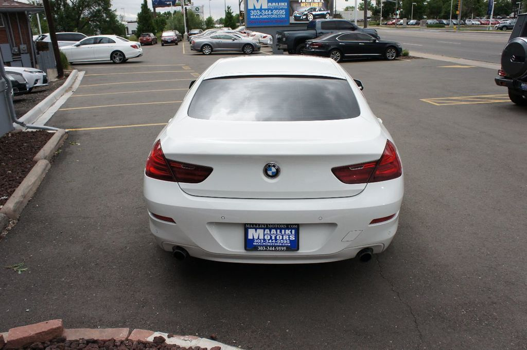 2015 BMW 6 Series 640i xDrive  Gran - 17712372 - 4