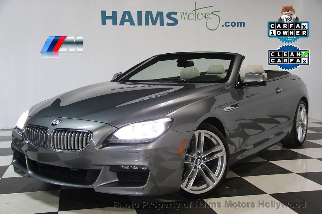 2015 Used BMW 6 Series 650i at Haims Motors Serving Fort Lauderdale