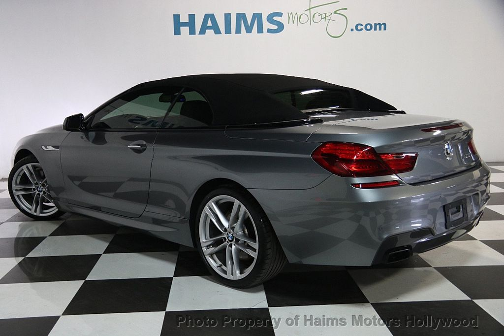 2015 used bmw 6 series 650i at haims motors serving fort lauderdale hollywood miami fl iid. Black Bedroom Furniture Sets. Home Design Ideas