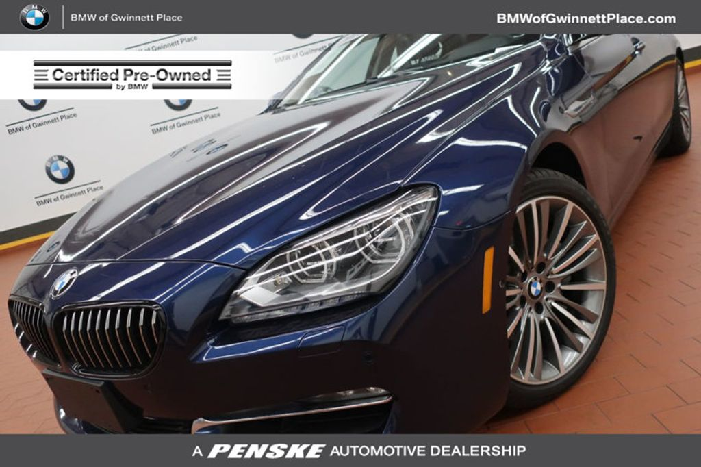 2015 BMW 6 Series 650i xDrive Gran - 17923853 - 0