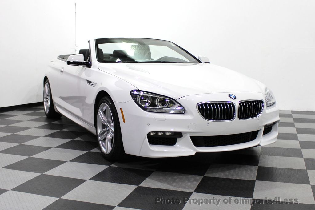 2015 BMW 6 Series CERTIFIED 640i xDrive AWD M SPORT COLD HUD NAV CAM HK LED - 18346383 - 15
